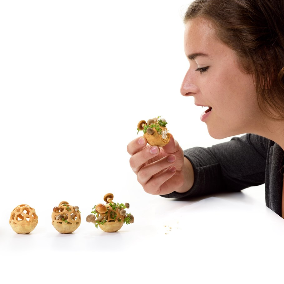 Food and concept designer Chloé Rutzerveld of Edible Growth, Brabant Brand Box