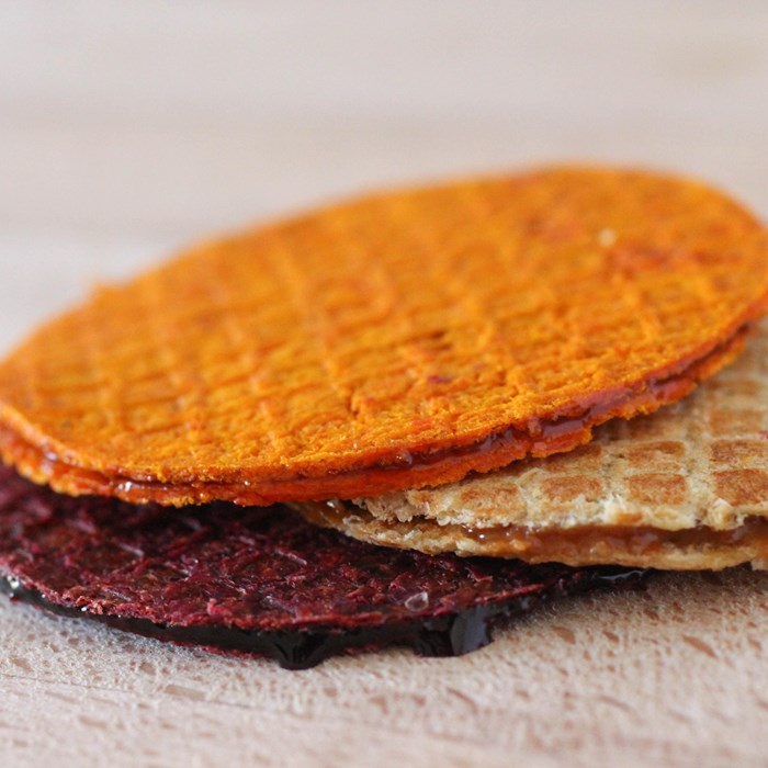 Edible Growth in Eindhoven: stroopwafels of residual products from the vegetable industry, Brabant Brand Box