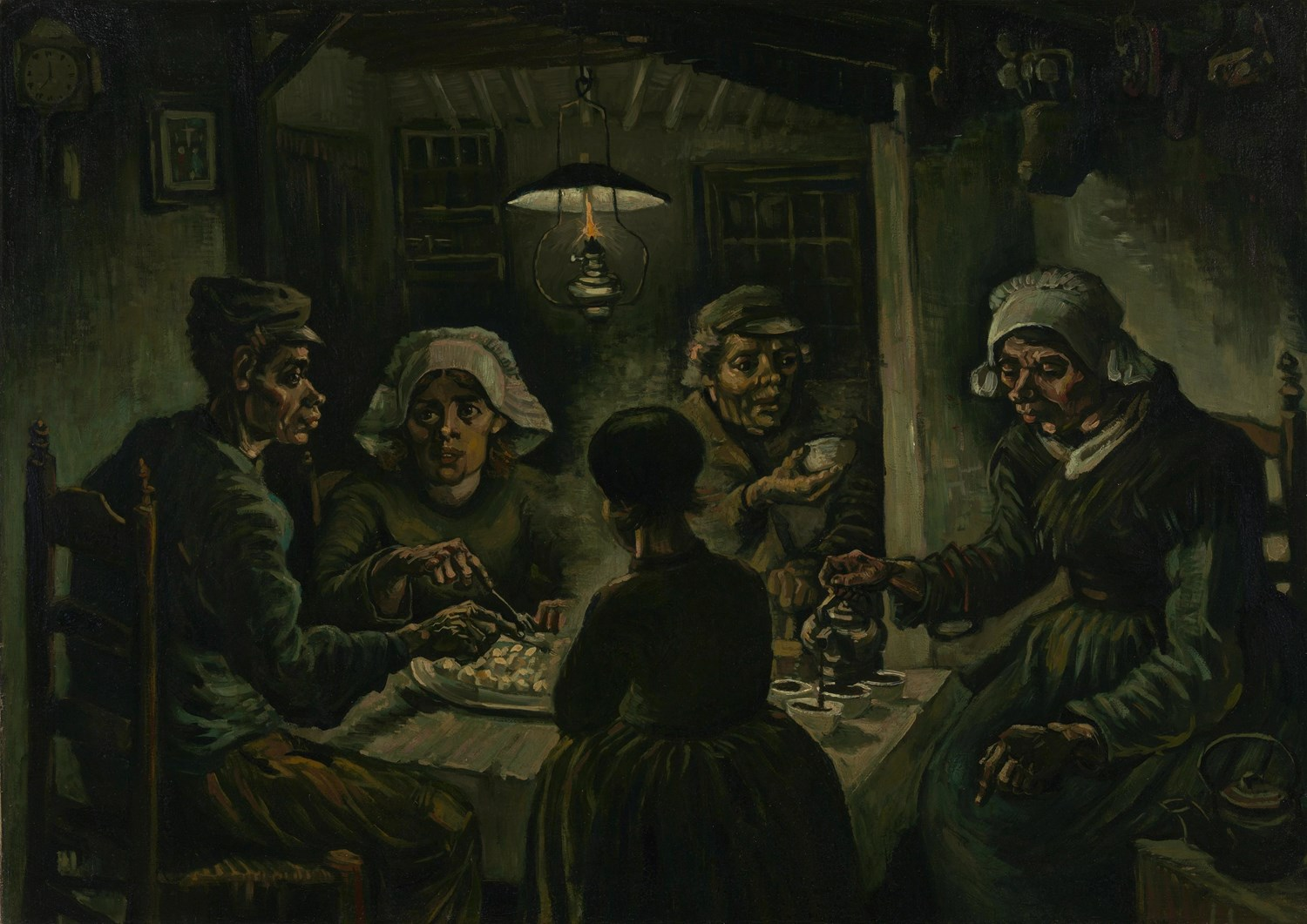 'The potato eaters' is a well-known work by Vincent van Gogh | Brabant Brand Box