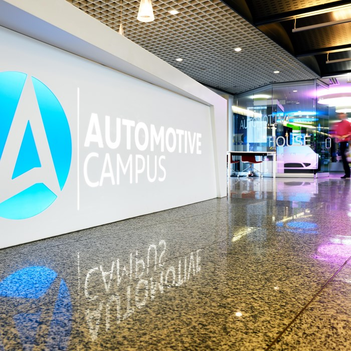 Automotive campus, Helmond, photo Bart van Overbeeke