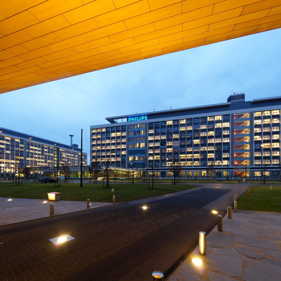 Philips at the High Tech Campus, Eindhoven, photo Bart van Overbeeke