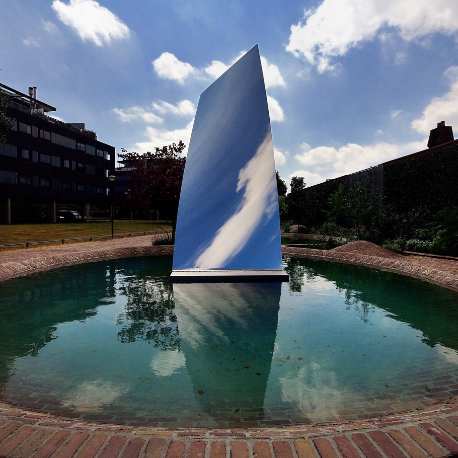 Tilburg is the first city with a sculpture (Sky Mirror for Hendrik) of Anish Kapoor in the public space.