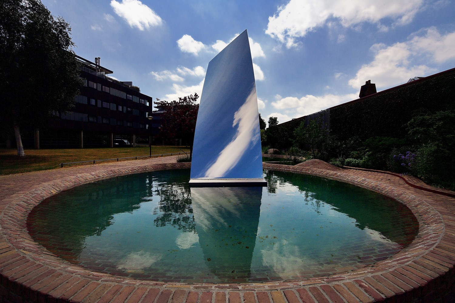 Sky Mirror for Hendrik, Anish Kapoor, collection De Pont.