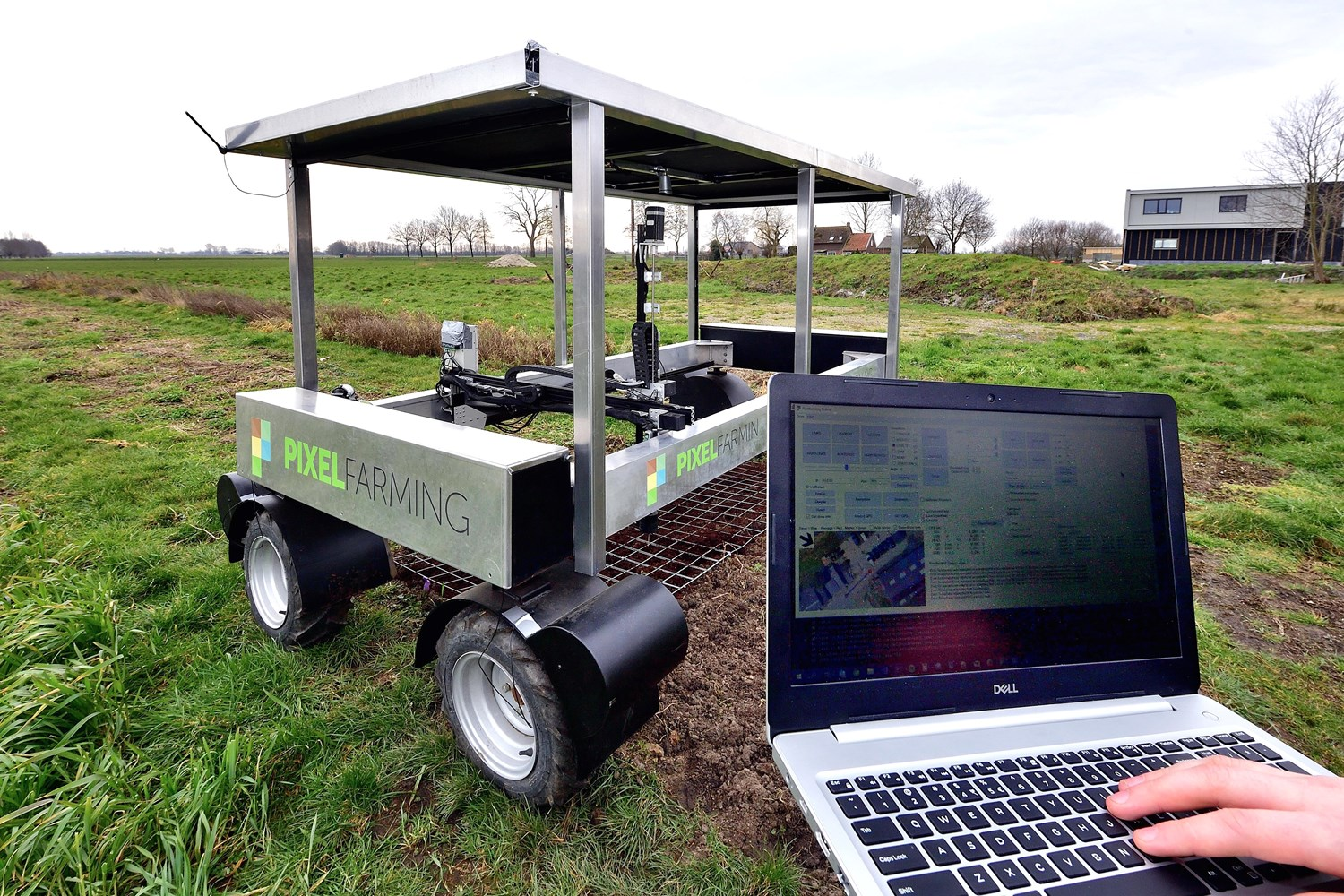 Pixelfarming, digital farming in Brabant