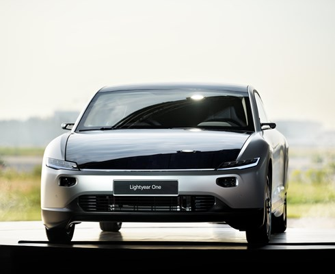 The Lightyear One is the first solar powered family car.