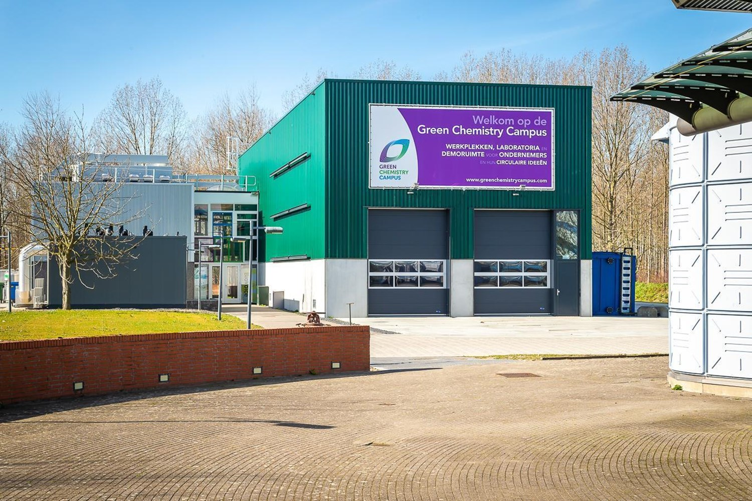 New, sustainably built demo facility on the Green Chemistry Campus