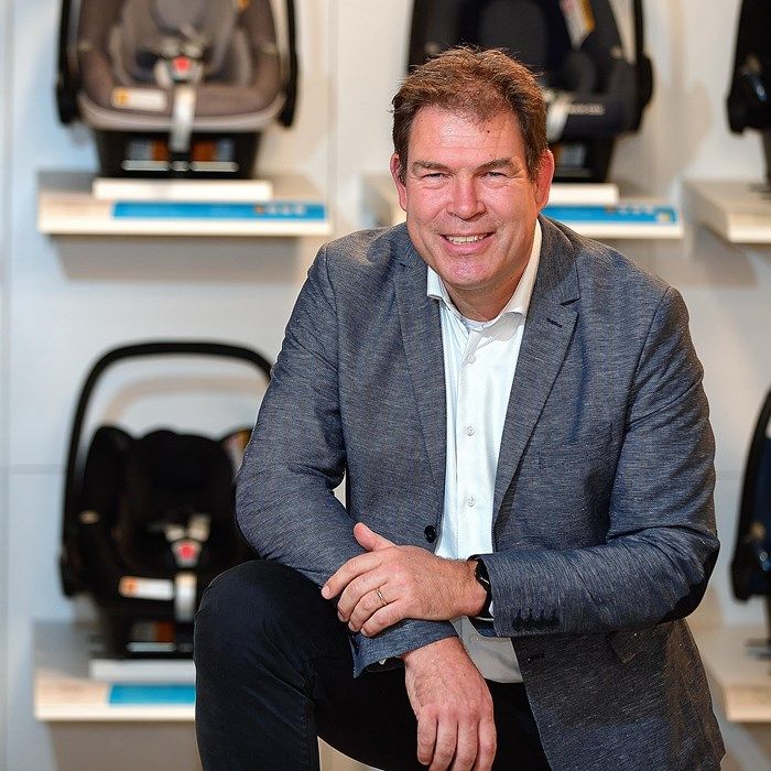 Maxi-Cosi sells its products in more than 100 countries, says Sjef van der Linden | Brabant Brand Box